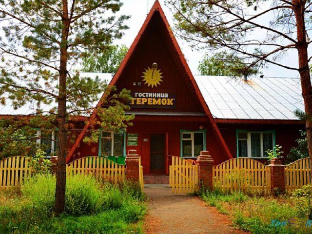 Гостиница Теремок на озере Яровое