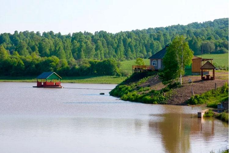озеро киреево