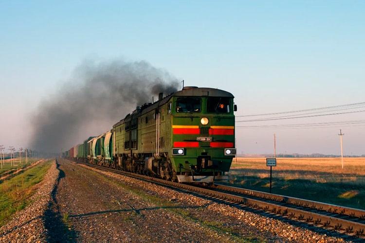 поезд на Алтай