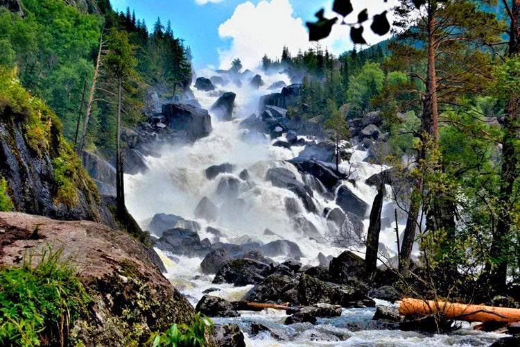 Большой Чульчинский водопад
