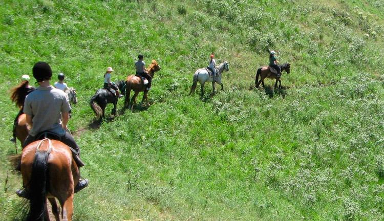 конный маршрут