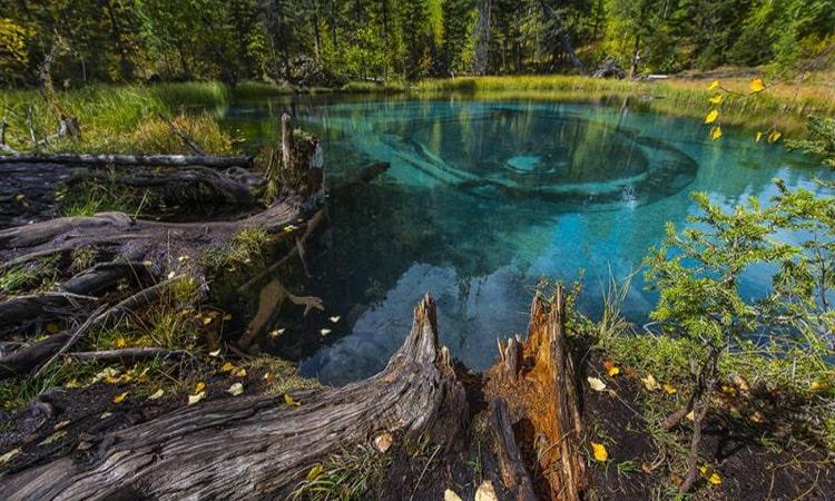 Голубое озеро Горный Алтай (gdealtai.ru)