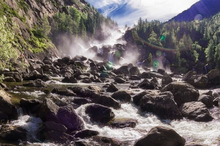 Чульчинский водопад