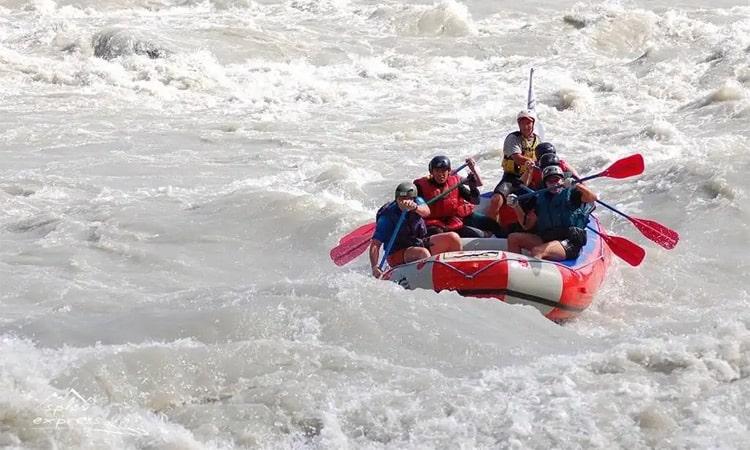 Рафтинг в алтайских реках