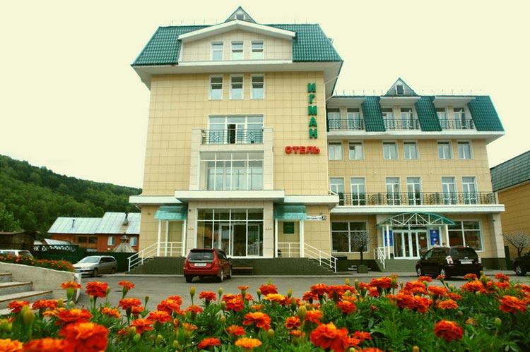 Гостиница «Игман» в Горно-Алтайске