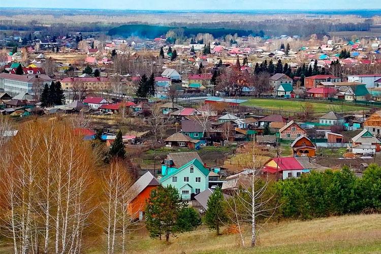 село Сростки