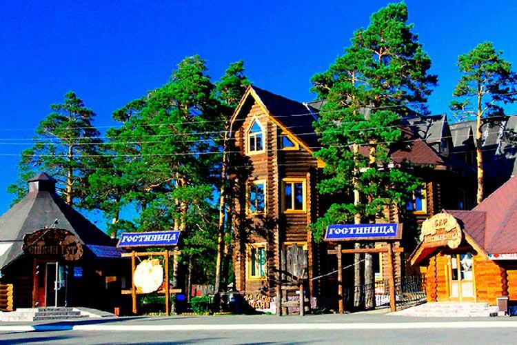«Арт-эко-отель Алтай» в Бийске
