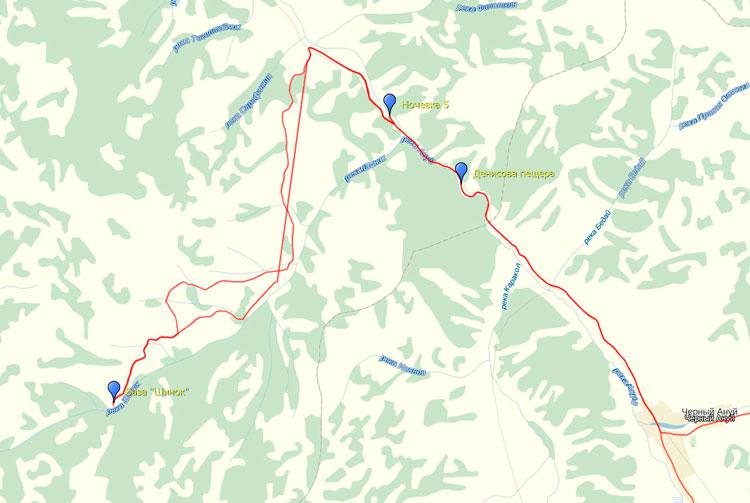 маршрут до денисовой пещеры