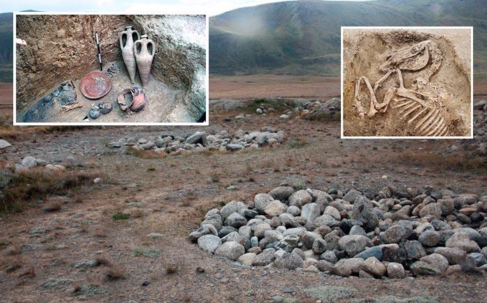 раскопки на реке Ак Алаха