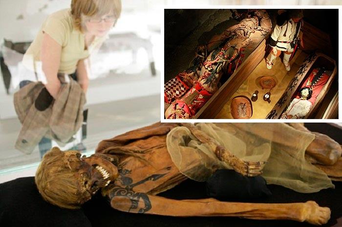 алтайская принцесса мумия