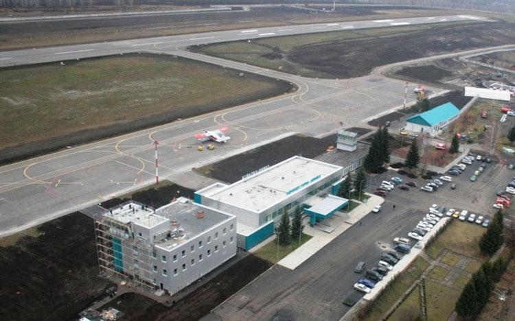 расположение аэропорта