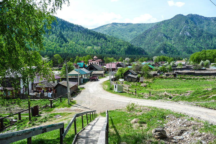 село барангол