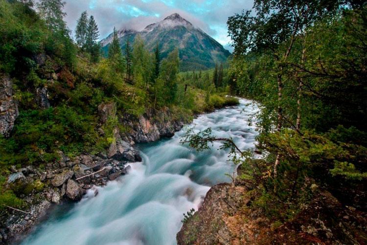 река на алтае
