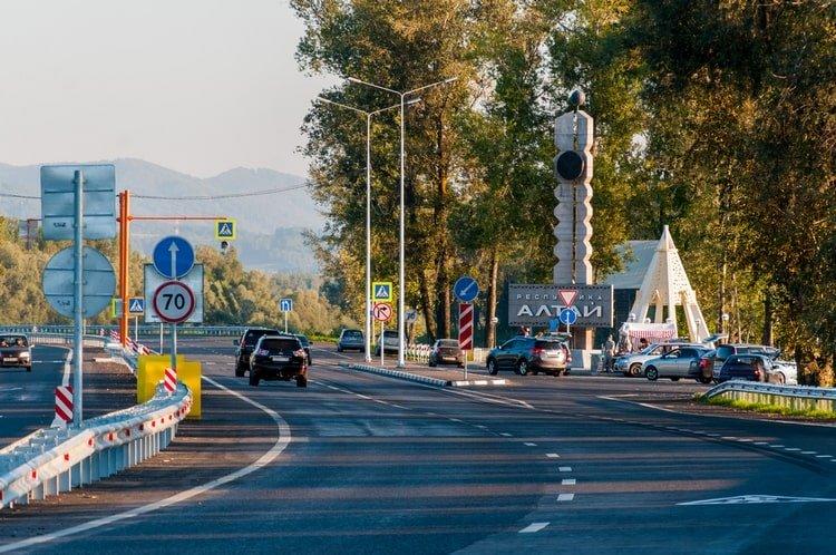 Граница Алтайского края и Республики Алтай