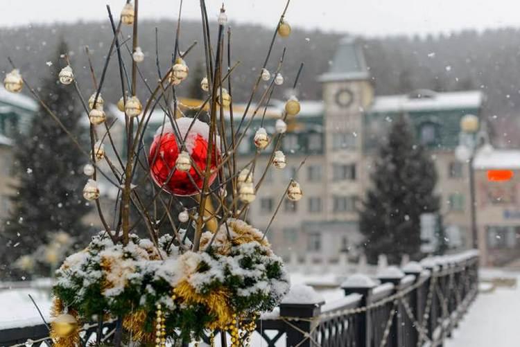 Новый год в белокурихе